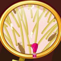 Игра Лечение волос с Бонни онлайн