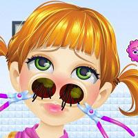 Игра Лечить нос онлайн