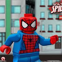 Игра Лего Человек Паук онлайн