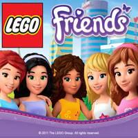 Игра Одевалка Лего Френдс онлайн