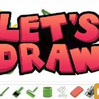 Игра Letsdraw it