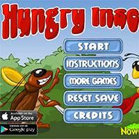 Игра Логические: голодные насекомые онлайн