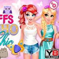 Игра Лучшие подруги навсегда одевалка онлайн