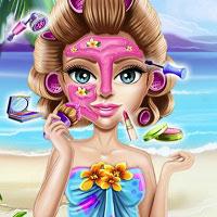 Игра Тропический макияж онлайн
