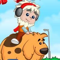 Игра Мальчик и собака онлайн