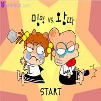 Игра Мальчик против девочки онлайн