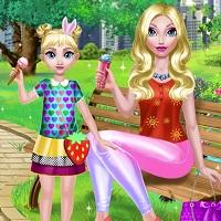 Игра Мама и дочка онлайн