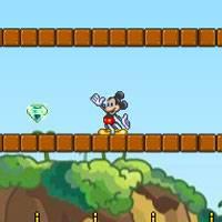Игра Микки Маус собирает звёзды онлайн