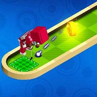 Игра Мини-гольф на троих онлайн
