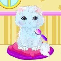 Игра Мыть кошек онлайн