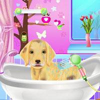 Игра Мыть собак онлайн
