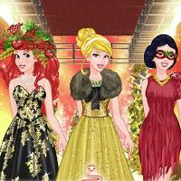 Игра Модная новогодняя одевалка онлайн