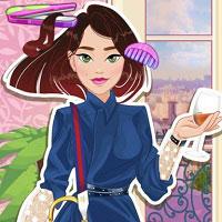 Игра Модная парижская парикмахерская онлайн