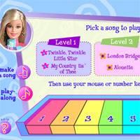 Игра Музыка Барби онлайн
