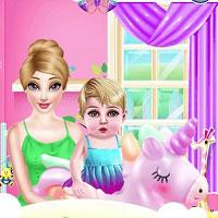 Игра Нянчить детей онлайн