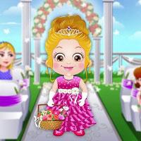 Игра Одень малышку Барби онлайн