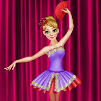 Игра Одевалка: Балерина онлайн