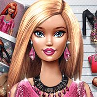 Игра Одевалка Модная Барби онлайн