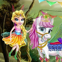Игра Одевалка Моя Подружка Пони онлайн