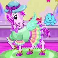 Игра Одевалка Моя Маленькая Пони онлайн