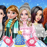 Игра Одевалка: Зимняя мода онлайн