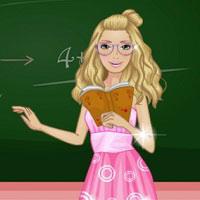Игра Одевалки Барби в школу онлайн