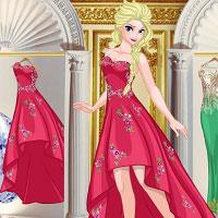 Игра Одевалки - гардероб принцессы Эльзы онлайн