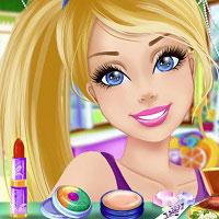 Игра Одевалки и макияж Барби онлайн