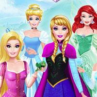 Игра Одевалки Принцесс онлайн