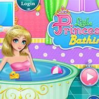 Игра Отдых маленькой принцессы онлайн