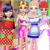 Игра Парикмахерская для принцесс онлайн