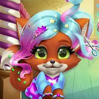 Игра Парикмахерская для животных онлайн