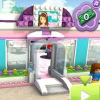 Игра Парикмахерская Лего Френдс онлайн