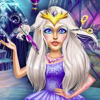 Игра Парикмахерская снежной королевы онлайн