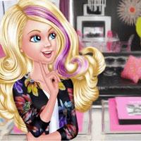 Игра Переделки дома Барби онлайн
