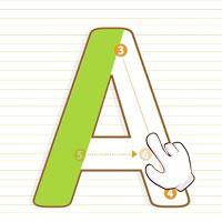 Игра Писать буквы онлайн