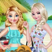 Игра Показ мод на курорте онлайн