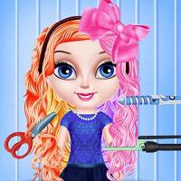 Игра Прекрасная прическа для малышки онлайн