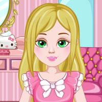 Игра Прическа Сары онлайн