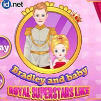 Игра Принц Бредли с малышкой онлайн
