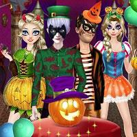 Игра Принцесса Хеллоувина онлайн