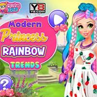 Игра Принцесса Радуга онлайн