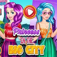 Игра Принцесса в большом городе онлайн