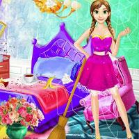 Игра Принцессы убираются онлайн
