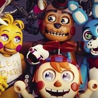 игра раскраска аниматроники играть онлайн бесплатно