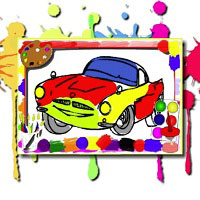 Игра Раскраска машины онлайн