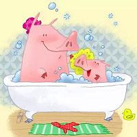Игра Раскрась ванную онлайн
