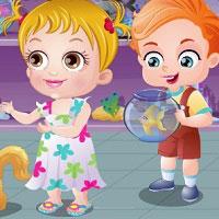 Игра С малышкой Хейзи онлайн