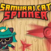 Игра Samurai cat spinner онлайн
