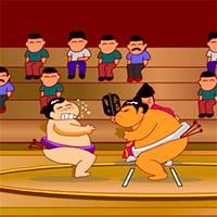 Игра Смертельное сумо на троих онлайн